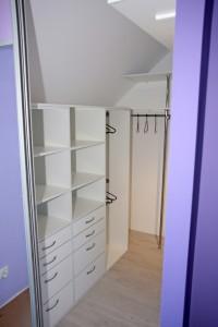 Garderoba pod skosem 2