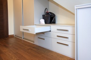 Pomieszczenie garderoby 1