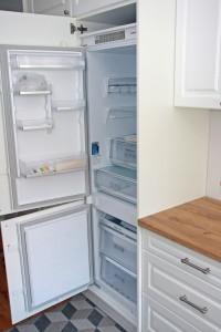 Kuchnia fronty frezowane lodowka 2