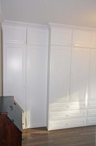 Szafa sypialnia - fronty frezowane 2