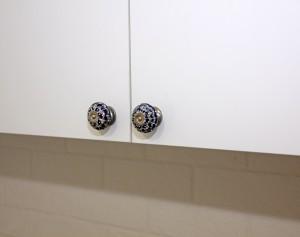 Zabudowa hall - akryl mat - detal