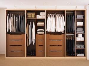 Garderoba - wnętrze